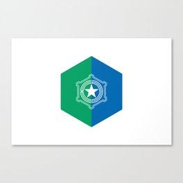 Sapporo 札幌 Basic Canvas Print