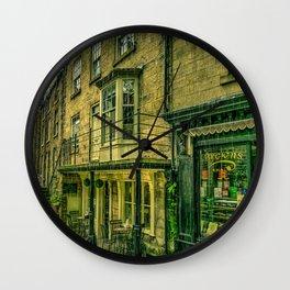 Rainy Day in the Bay Wall Clock