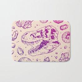 Geo-rex Vortex | Magenta & Purple Ombré Bath Mat