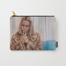 Margot Tenenbaum - Painting of Gwyneth Paltrow Carry-All Pouch