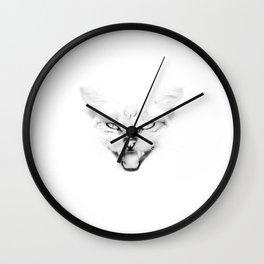 Screaming Cat Wall Clock