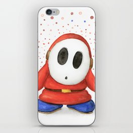 Confused Shy Guy iPhone Skin