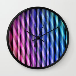 Pattern multicolored 11 Wall Clock