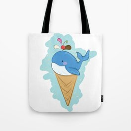 Henry the Whale Tote Bag