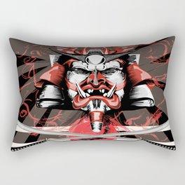 Samurai Flag Rectangular Pillow