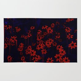 DRIPPING FLOWERS Rug