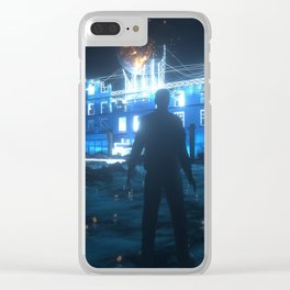The House Of Elders Clear iPhone Case