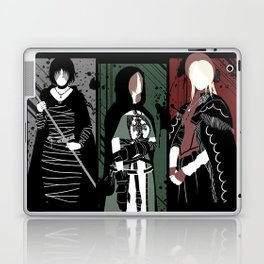 Souls Waifus Laptop & iPad Skin