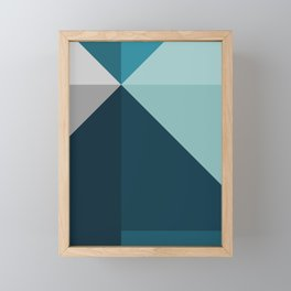 Geometric 1702 Framed Mini Art Print