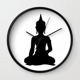 Simple Buddha Wall Clock