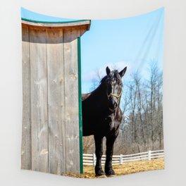 Percheron Horse by Teresa Thompson Wall Tapestry