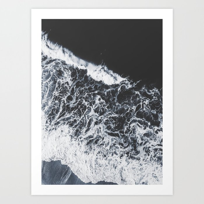 sea lace Art Print