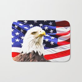 Bald Eagle Bath Mat