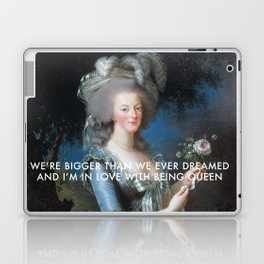 In Love with Being Queen of France Laptop & iPad Skin