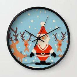 HO HO NOSES! Wall Clock