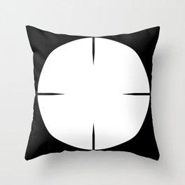 Telescopic Sight Throw Pillow