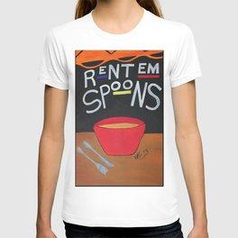 Rent Em Spoons T-shirt