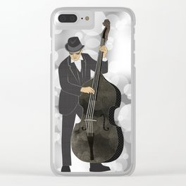 Double Bass Clear iPhone Case