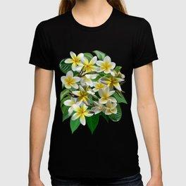 Plumeria Flowers T-shirt
