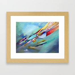 The gift of the unknown Framed Art Print