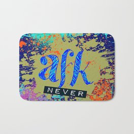 AFK(never) Bath Mat