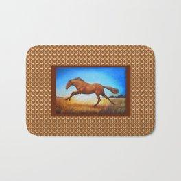 The Race Horse Bath Mat