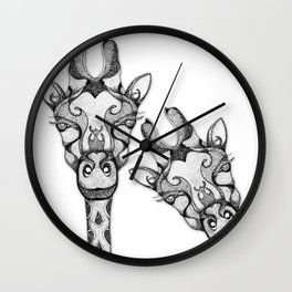 Oh-Hello! Wall Clock