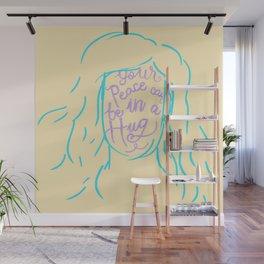 Peace in a Hug Wall Mural
