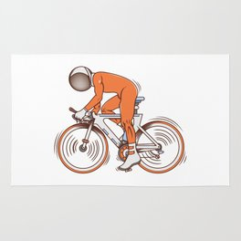 All I wanna do is bicycle Rug