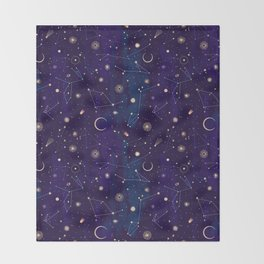 Night of a Thousand Moons Throw Blanket