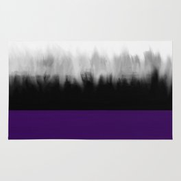 Asexuality Spectrum Flag Rug