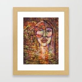 Feeling Crabby Framed Art Print