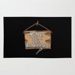 I'm A Mother Effing Homeower Rug