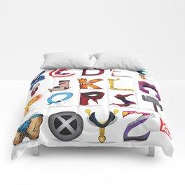 The ABC of the MCU - Horizontal Comforters