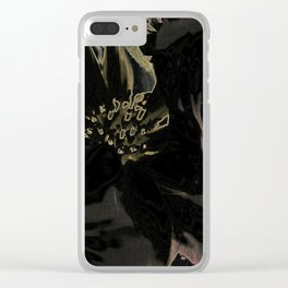Flower bouquet...Neon Clear iPhone Case
