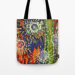 Induced Cosmic Revelations (Four Dreams, In Mutating Cycle) Tote Bag
