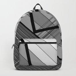 Gray Geometry 2 Backpack