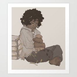 smol fitz Art Print