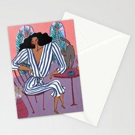 Sunday Table  – Original Fashion art, Fashion Illustration, Fashion wall art Stationery Cards