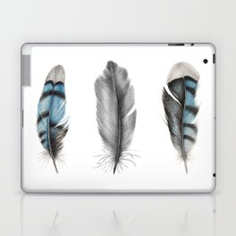 Blue Jay Feathers | Bird | Animal | Painting | Art | Animals Laptop & iPad Skin