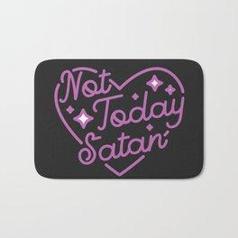 not today satan III Bath Mat