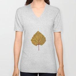 Goldenberry leaf Unisex V-Neck