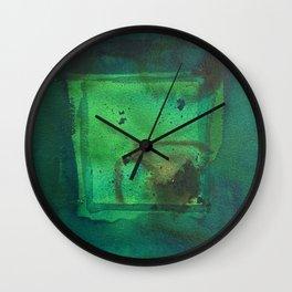 color abstract 5 Wall Clock