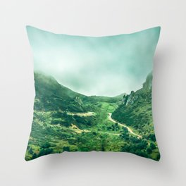 Picos de Europa Throw Pillow