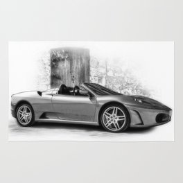 Ferrari F430 Rug
