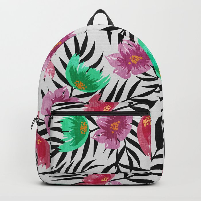 Floral Summer Backpack