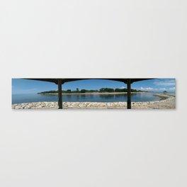 Sanur Beach Canvas Print
