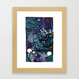 Mashup Framed Art Print