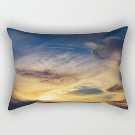 Sunset Trail Rectangular Pillow