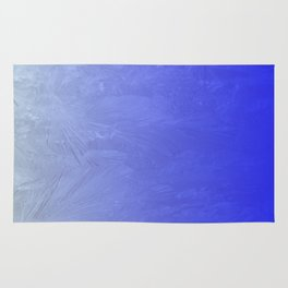 Blue Ice Glow Rug